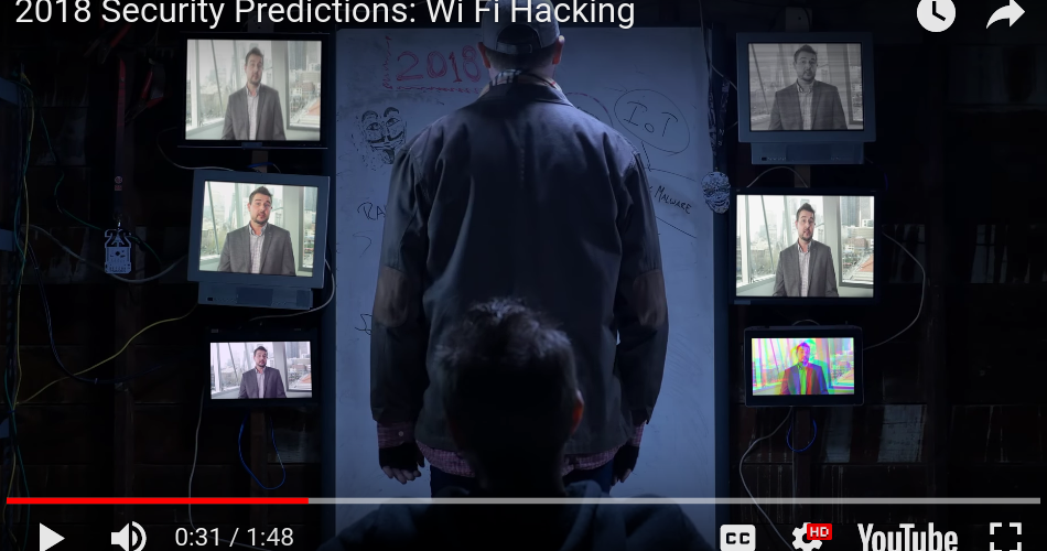 2018 Security Predictions: Wi-Fi Hacking – Thanks to